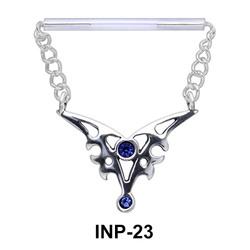 Hanging Wings Nipple Piercing INP-23