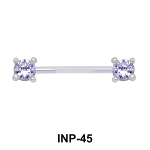 Impressive Crystal Invisible Nipple Piercing INP-45