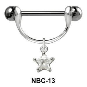 Star Shaped Nipple Piercing NBC-13
