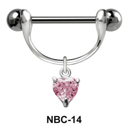 Shimmering Nipple Piercing NBC-14