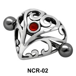 Designer Heart Nipple Shield NCR-02