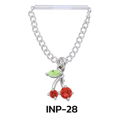 Sweet Cherry Invisible Nipple Piercing INP-28