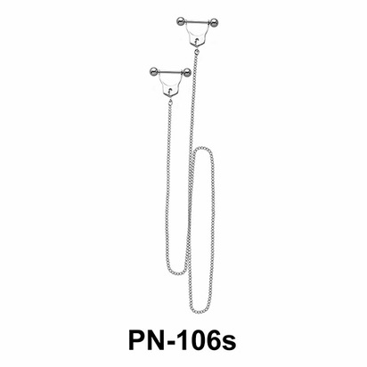 Chained Nipple Piercing PN-106s