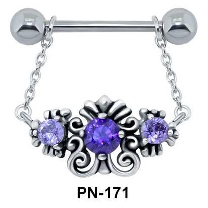 Nipple Piercing Dangling PN-171