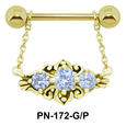Designer Stone Nipple Filigree PN-172