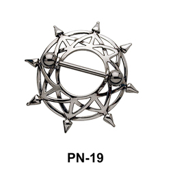 Beautiful Design Nipple Piercing PN-19
