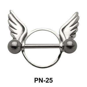 Wings Shaped Nipple Piercing PN-25