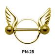 Wings Shaped Nipple Piercing PN-25