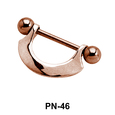 Plain n Simple Nipple Piercing PN-46