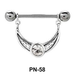 Gorgeous Designer Nipple Piercing PN-58
