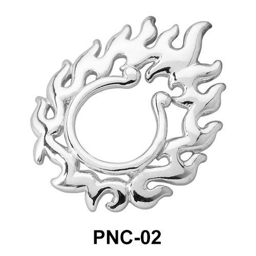 Flames Shaped Nipple Clip PNC-02