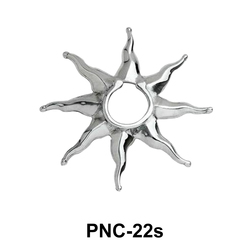 Small Sunrays Nipple Clip PNC-22s
