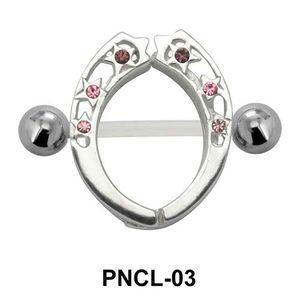 Charming Designer Nipple Piercing PNCL-03