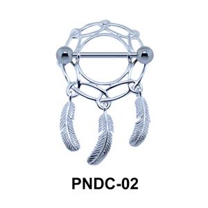 Dream Catcher Nipple Piercing PNDC-02