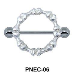 Bony Circle Nipple Piercing PNEC-06
