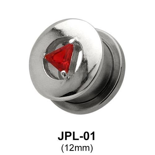 Triangle Stone Set Jewelled Tunnel JPL-01