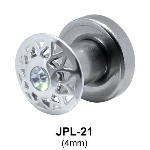 Rhinestone Innovative Design Plugs and Tunnels JPL-21