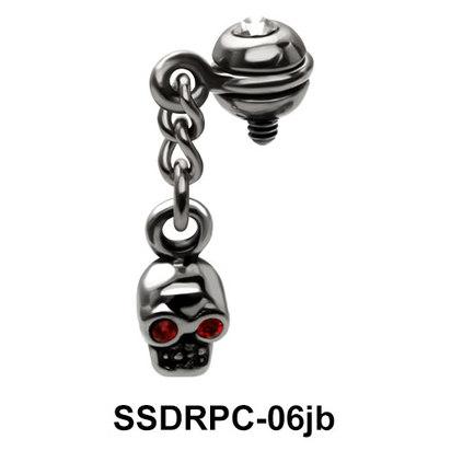 Internal Attachment Dangling With Skull SSDRPC-06jb