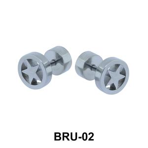 Star in Circle Fake Plug BRU-02