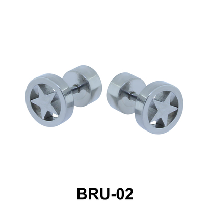 Star in Circle Fake Plug BRU-02