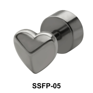 Shiny Heart Fake Plug SSFP-05
