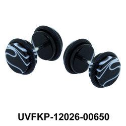 Artistic Design Black Fake Plug UVFKP-12026-00650