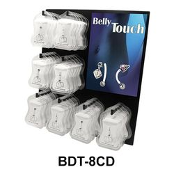 Empty Belly Piercing Display without box set BDT-8CD