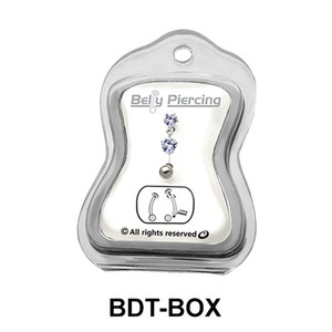 Empty Belly Piercing Box BDT-BOX
