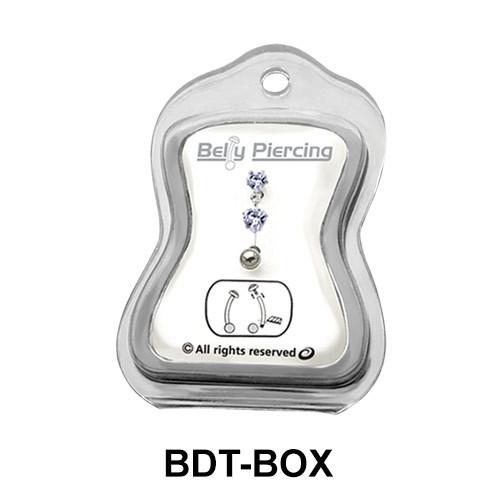 Empty Belly Piercing Box BDT-BOX