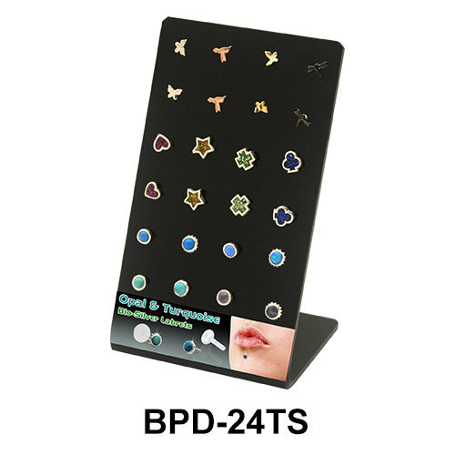Empty Display 24 Holes BPD-24TS BK