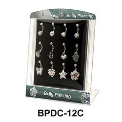 Empty Display 12 Clips BPDC-12C