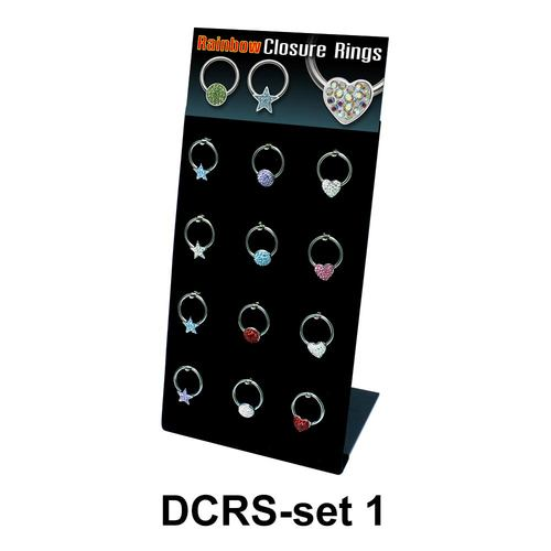 12 Piercing Sets DCRS-SET-1