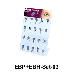 20 Eyebrow Piercing Set EBP+EBH-Set-03