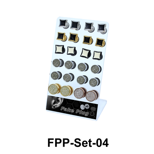 24 Fake Plugs Set FPP-Set-04