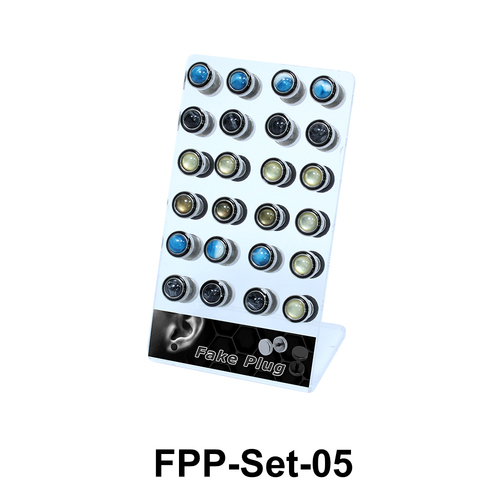 24 Fake Plugs Set FPP-Set-05