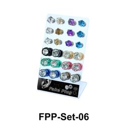 24 Fake Plugs Set FPP-Set-06