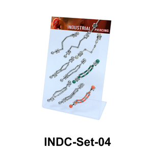 9 Industrial Piercing Set INDC-Set-04