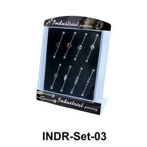 8 Industrial Piercing Set INDR-Set-03