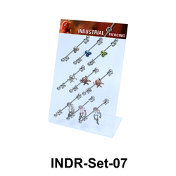 9 Industrial Piercing Set INDR-Set-07