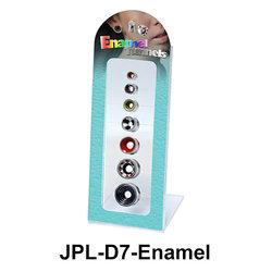 Empty 7 Holes Tunnels Display JPL-D7 Enamel