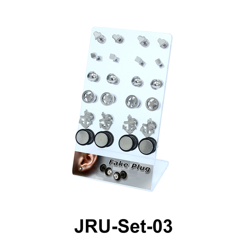 24 Fake Plugs Set JRU-Set-03