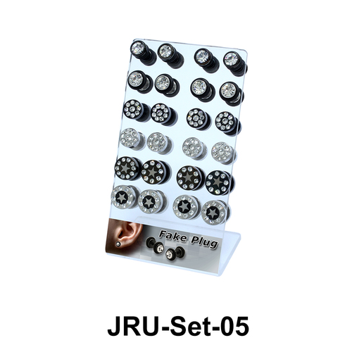 24 Fake Plugs Set JRU-Set-05