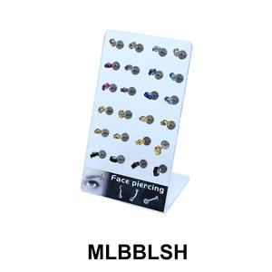 24 Labret Piercing Set MLBBLSH-Set-01