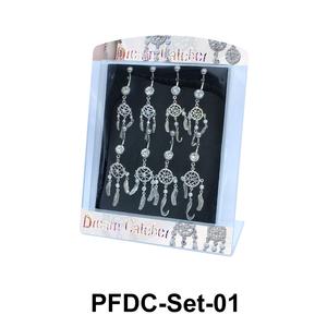 8 Dream Catcher Belly Piercing Set PFDC-Set-01