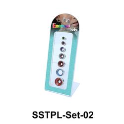 7 Enamel Tunnels Set SSTPL-Set-02