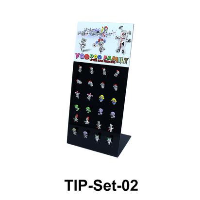 24 Voodoo Helix Ear Piercing Set TIP-Set-02