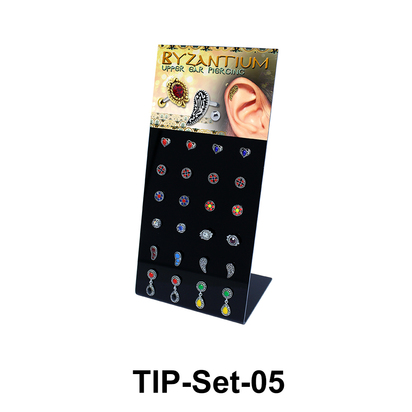 24 Helix Ear Piercing Set TIP-Set-05