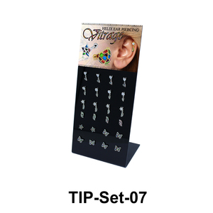 24 Helix Ear Piercing Set TIP-Set-07