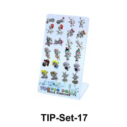 24 Voodoo Helix Ear Piercing Set TIP-Set-17