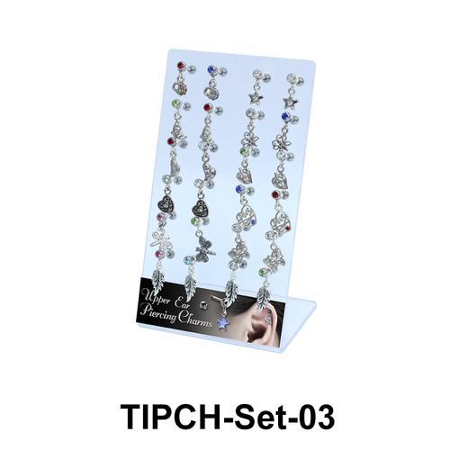 24 Helix Ear Piercing Sets TIPCH-SET-03